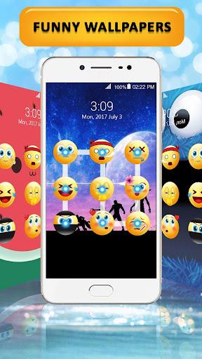 Emoji lock screen pattern 1.2.5 screenshots 10
