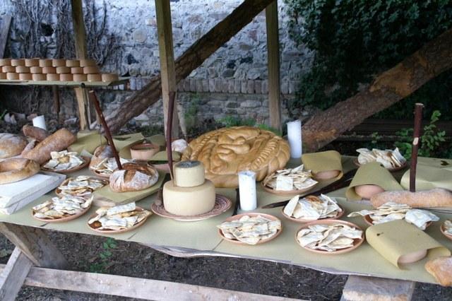 Mangiare nel Medioevo a Villa Alessi - | Strada del Vino Colli Euganei