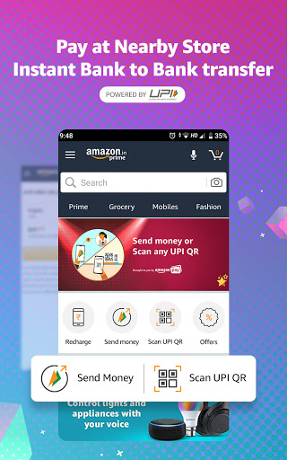 Amazon Shopping, UPI, Money Transfer, Bill Payment 20.18.0.300 Screenshots 4