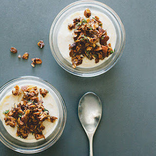 Dairy-Free Lemon Crèmes With Oat-Thyme Crumble