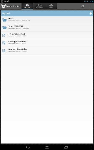 McAfee Personal Locker screenshot 7