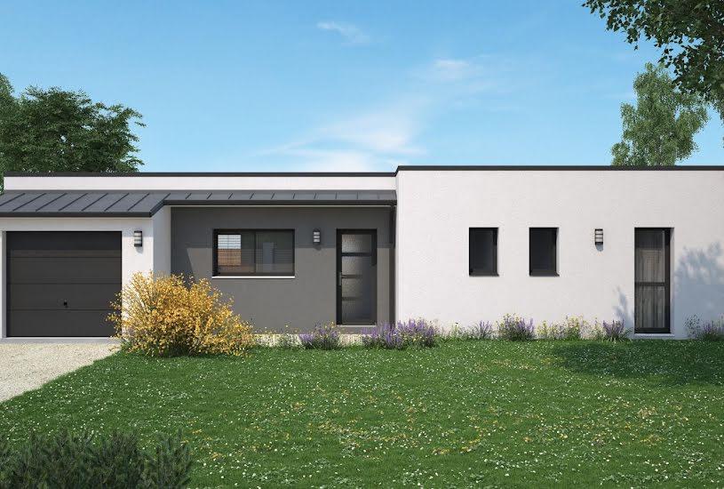 Vente Terrain + Maison - Terrain : 848m² - Maison : 87m² à Poitiers (86000)