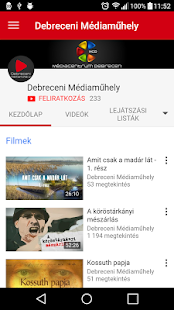 Médiacentrum Debrecen- screenshot thumbnail
