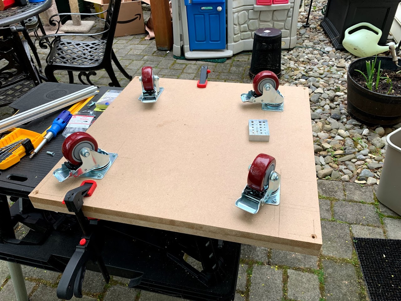 A multi-purpose power tool table