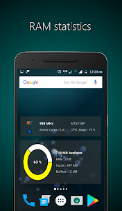Widgets – CPU | RAM | Battery Apk 2