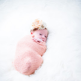 Snuggled by Todd Wallarab - Babies & Children Babies ( pretty, dream, baby, girl, sweet, cute )