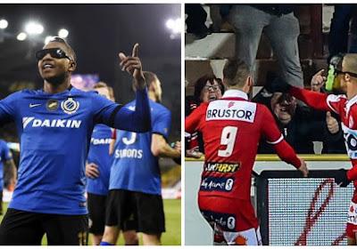 Izquierdo van Club Brugge kreeg geen geel, Idriss Saadi van Kortrijk wel