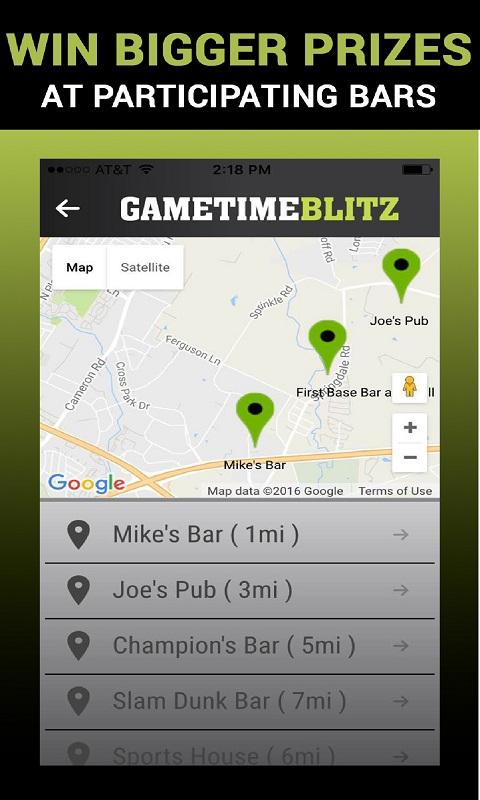 Gametime Blitz - Live Sports Prediction Game- screenshot