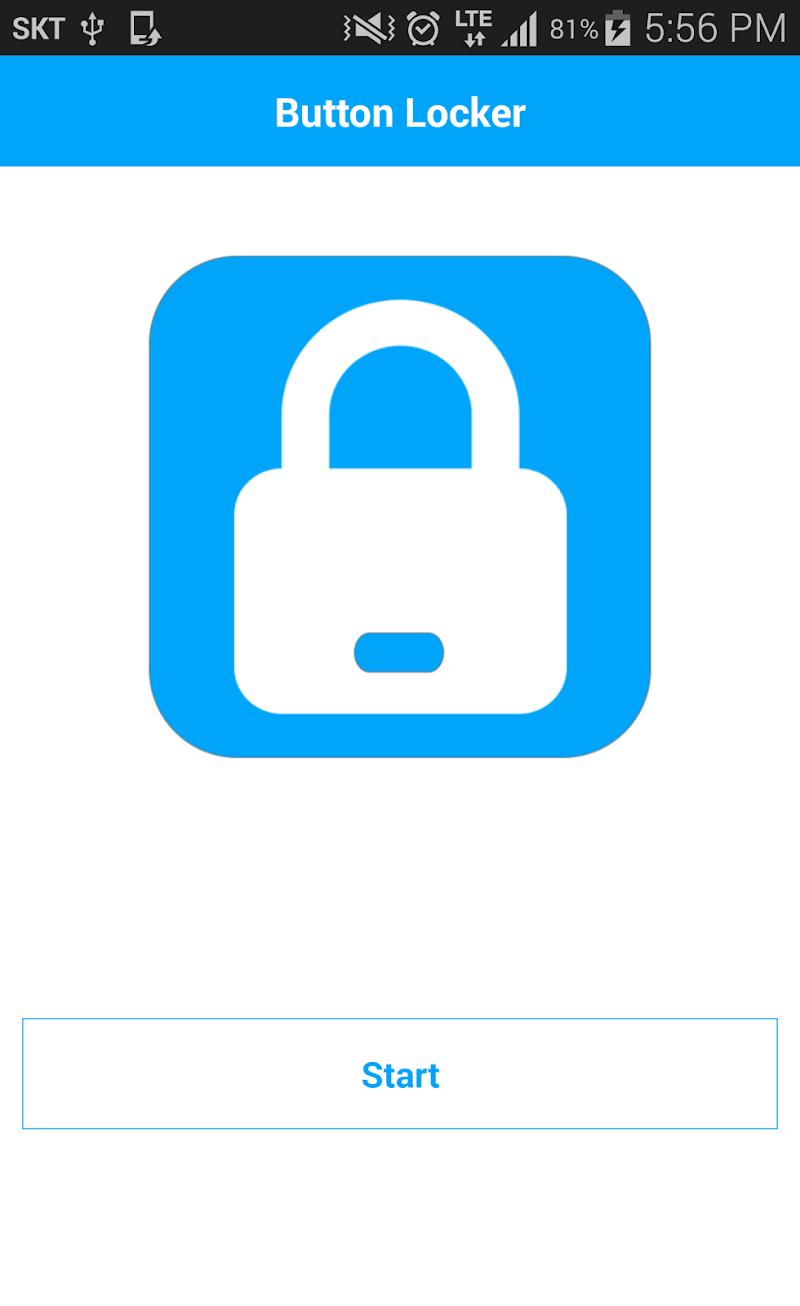 Скриншот Button Locker (home, back)