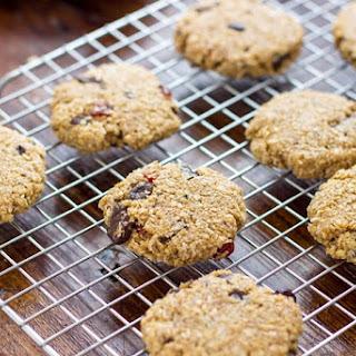 Flourless Chocolate Oatmeal Cookies.
