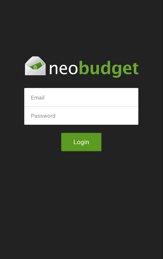NeoBudget- screenshot