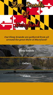Sleep Sounds Of Maryland Screenshot