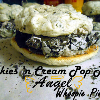 Cookies 'n Cream Pop Tart Angel Whoopie Pies