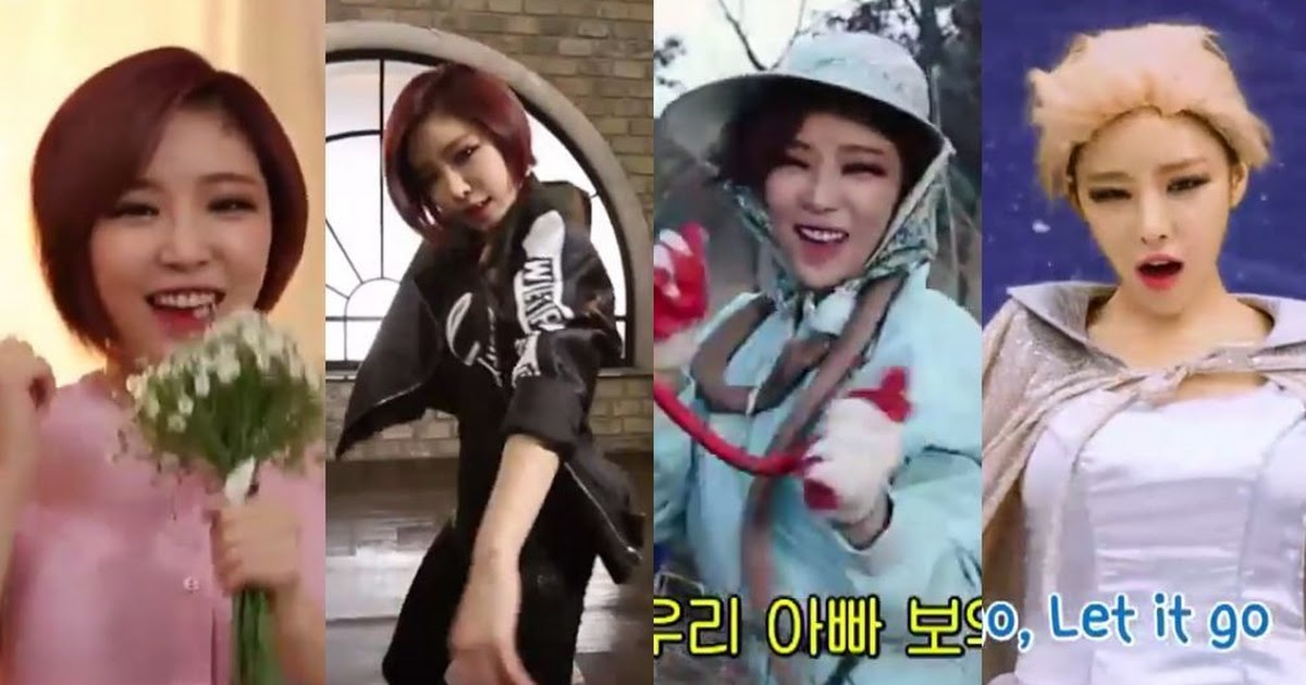 Ga In is still too sexy to handle as IU, EXO, and Elsa on