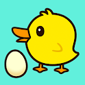 Happy Mrs Duck Lays Eggs Game icon