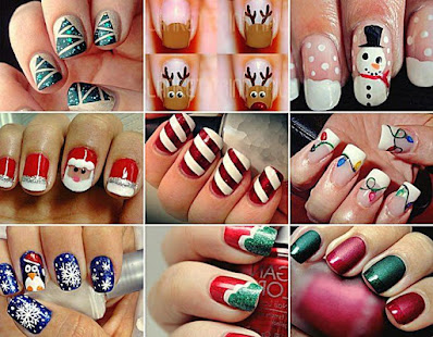 Nails Decorated with Flowers Step by Step
