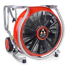 Photo: Ventilátor se spalovacím motorem MT 245