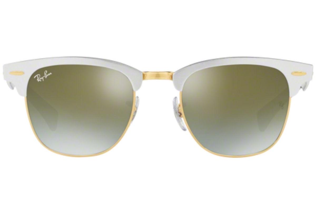 Buy Ray-Ban Clubmaster Aluminum RB3507 C49 137 9J Sunglasses   Blickers e2e0ece8e6