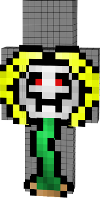 I DO NOT own the flowey skin! I only redid the face expression! The original artist of this skin is UNKNOWN! If you do know who made the Original skin, Please go tell them how amazing they are.