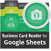 Free Business Card Reader for Google Sheets