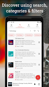 CastMix Podcasts – Podcast and Radio player 2