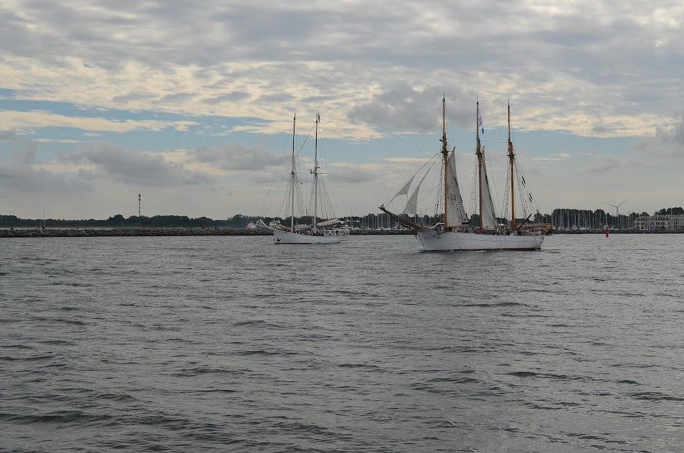 HanseSail 2017 - Segelschiff in Warnemünde