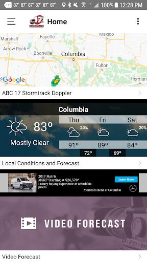 ABC 17 Stormtrack Weather App 4.5.903 screenshots 3