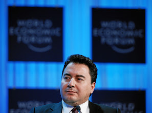 Photo: DAVOS/SWITZERLAND, 28JAN12 - Ali Babacan, Deputy Prime Minister for Economic and Financial Affairs of Turkey is captured during the session 'Global Economic Outlook 2012' at the Annual Meeting 2012 of the World Economic Forum at the congress centre in Davos, Switzerland, January 28, 2012.Copyright by World Economic Forumswiss-image.ch/Photo by Sebastian Derungs
