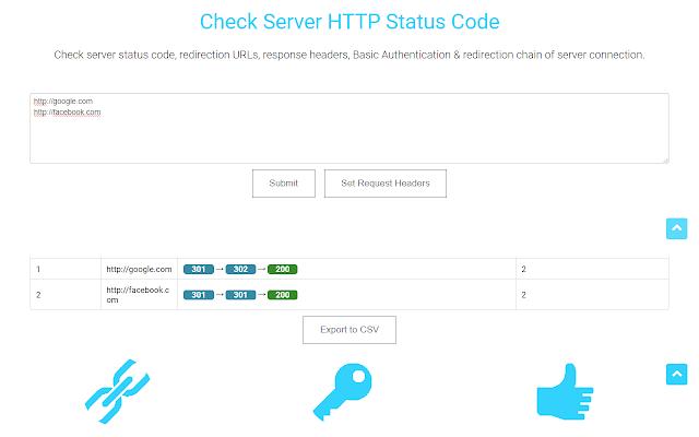 Check Status Code
