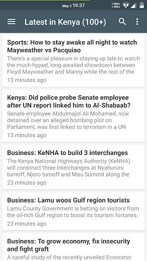 Kenya Latest News