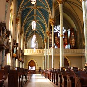 St. John the Baptist Cathedral, Savannah, GA by Barbara Suggs - Buildings & Architecture Places of Worship ( savannah, cathedral )