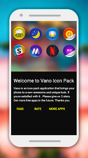 Vano - Icon Pack Screenshot