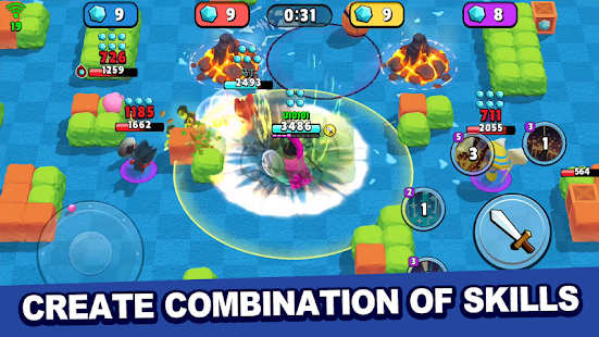 Hack Game Tiny Heroes - Magic Clash apk free