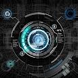 Black mechanic Atom Theme apk