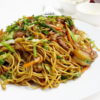 Seafood Noodles Chinese Recipes