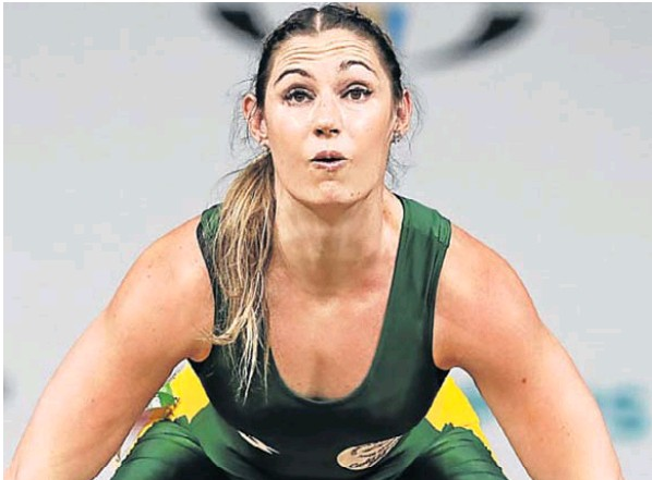 Mona Pretorius continues to impress in the international weightlifing arena