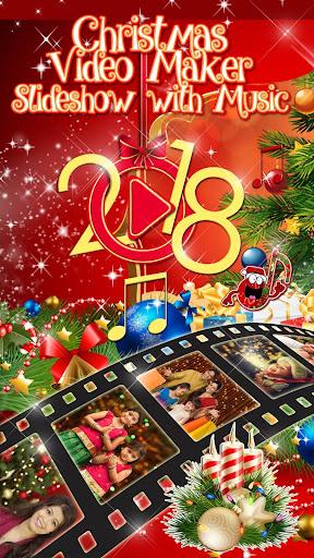 christmas video maker slideshow with music 2018 screenshot 1