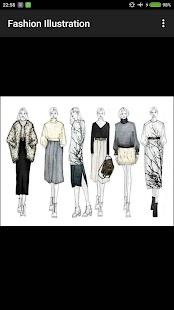 Fashion Illustration - náhled