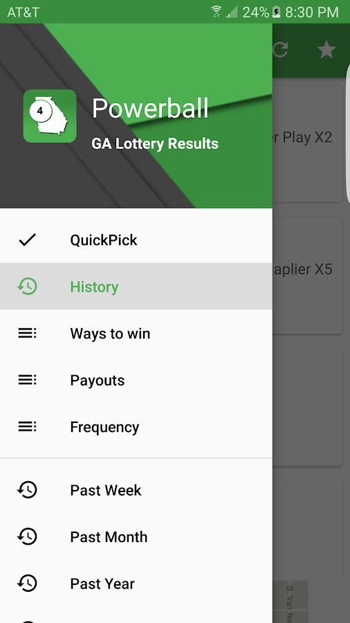 georgia all or nothing lottery games in new york