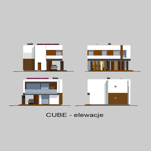 Cube - Elewacje