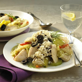 Fish and Fennel Stew with Wild Rice.