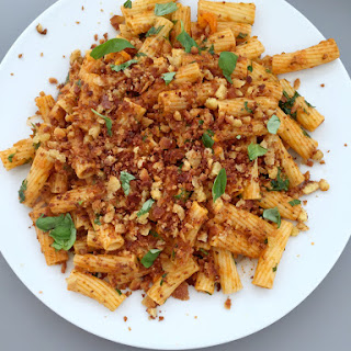 Rigatoni with Tomatoes and Rocket Recipe