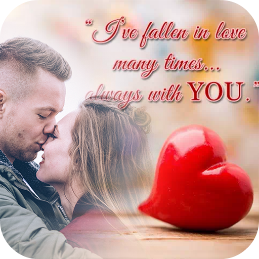 Love Quotes Photo Editor Icon