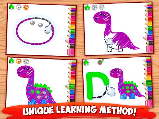 ABC DRAW ud83cudfa8 Kids Drawing! Alphabet Games Preschool  screenshots 8