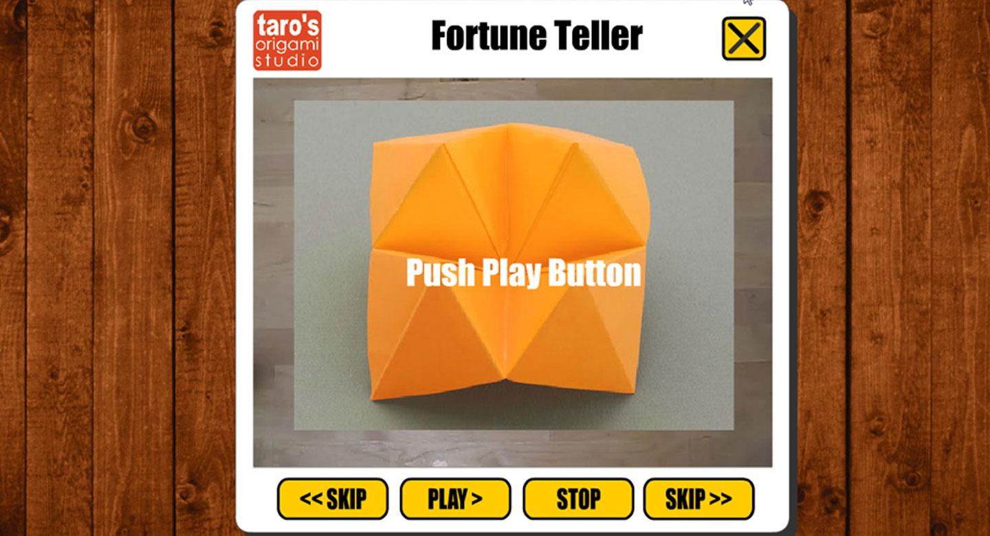 Origami fortune teller app android apps on google play origami fortune teller app screenshot jeuxipadfo Choice Image