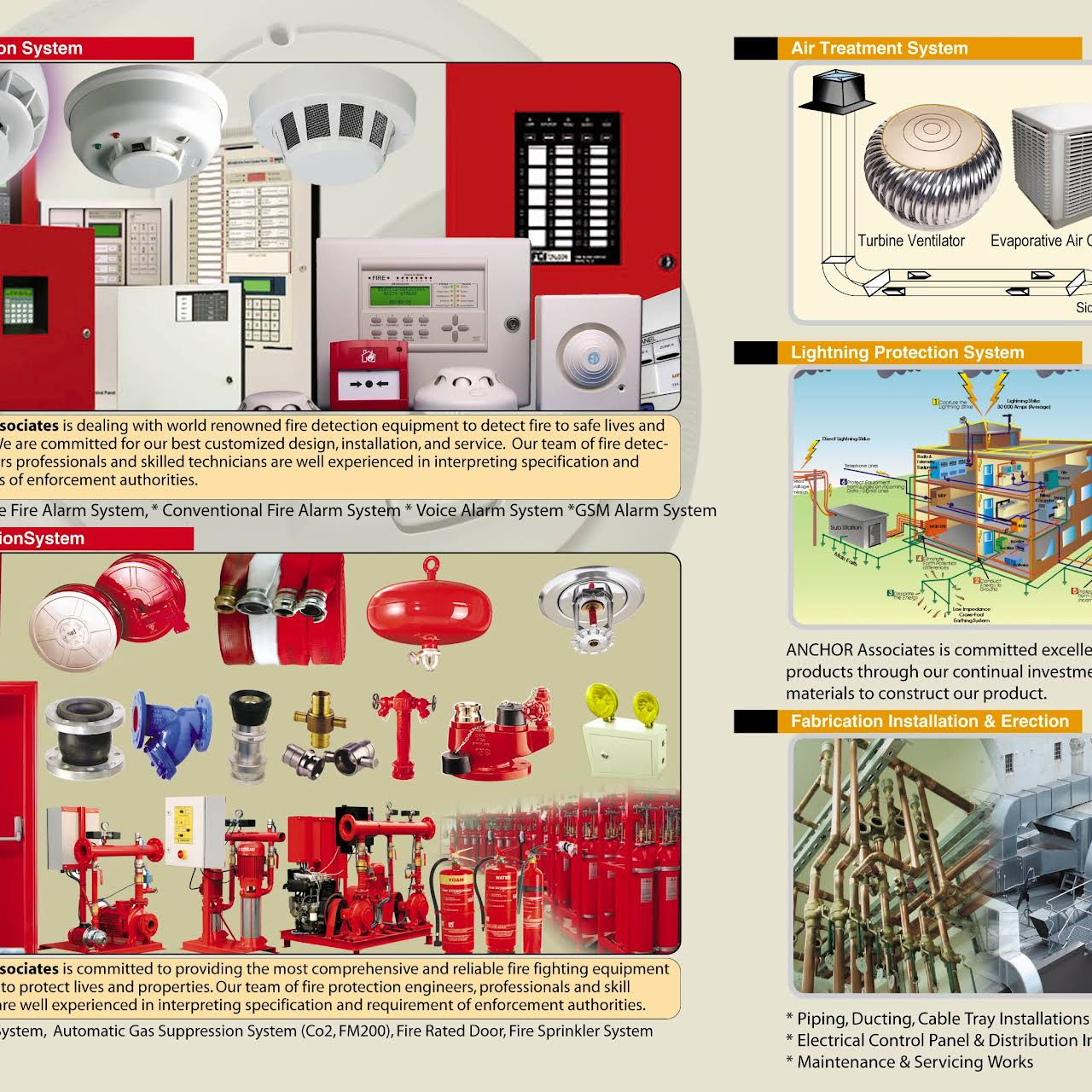 ANCHOR Associates - Fire Protection System Supplier in Dhaka