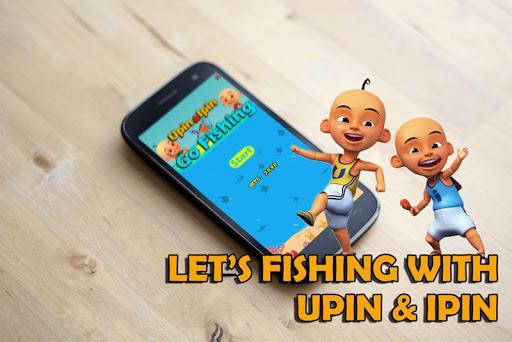 Upin Ipin Go Fishing