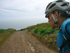 Photo: Approaching the steep section of Coastal Trail