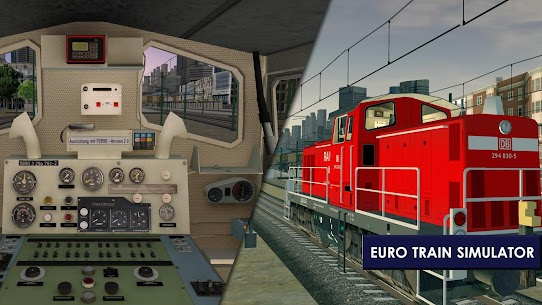 Euro Train Simulator 2 1.0.5.6 Apk Mod (Unlocked) Download 2018 6
