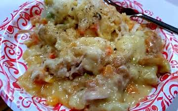 Delicious Chicken and Dumpling Casserole
